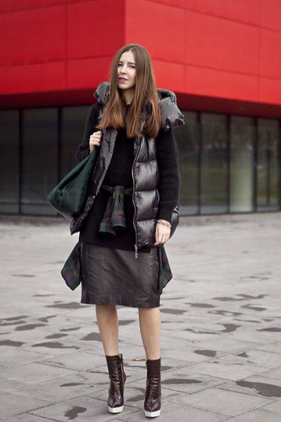 moda uliczna Fashion Week Poland październik 2013 - Olivia Kijo z bloga Variacje