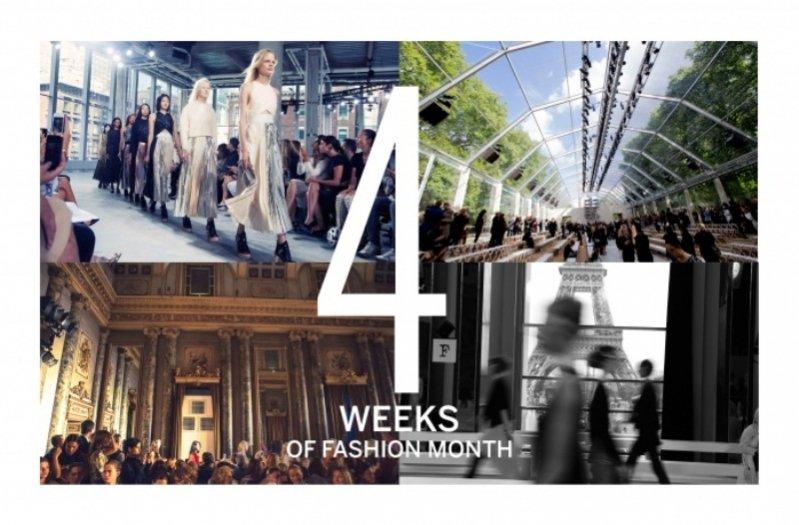 Vogue.com podsumowuje Tygodnie Mody w liczbach - 4 tygodnie pokazów mody