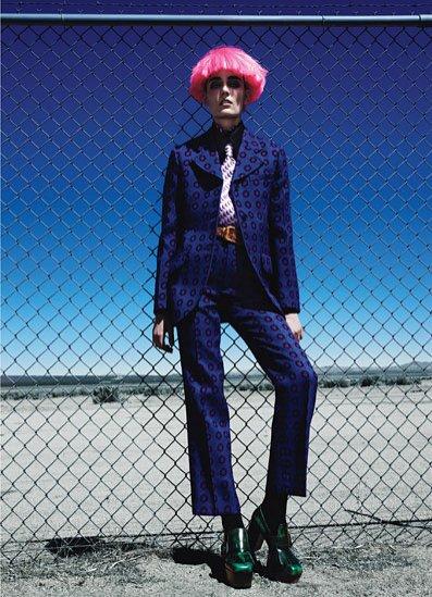 Zuzanna Bijoch w sesji Patricka Demarchelier dla W Magazine