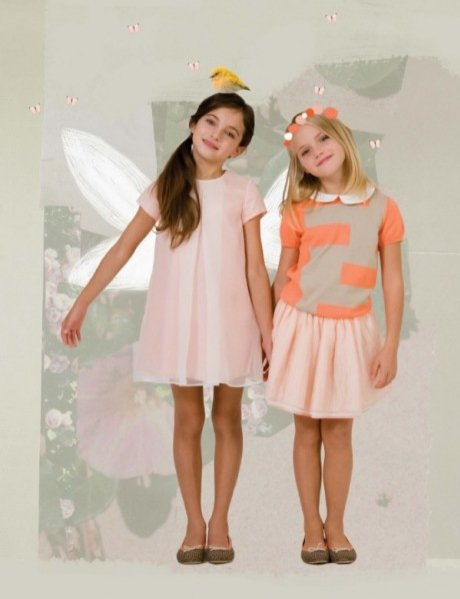 1. Kolekcja dla dzieci Fendi wiosna lato 2014
