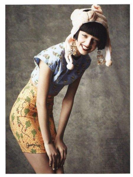 Daga Ziober w Harper's Bazaar Russia Marzec 2012