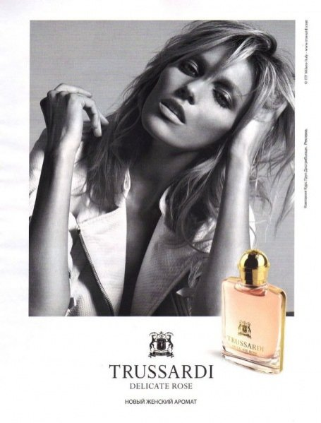 Anja Rubik w najnowszej kampanii zapachu Trussardi