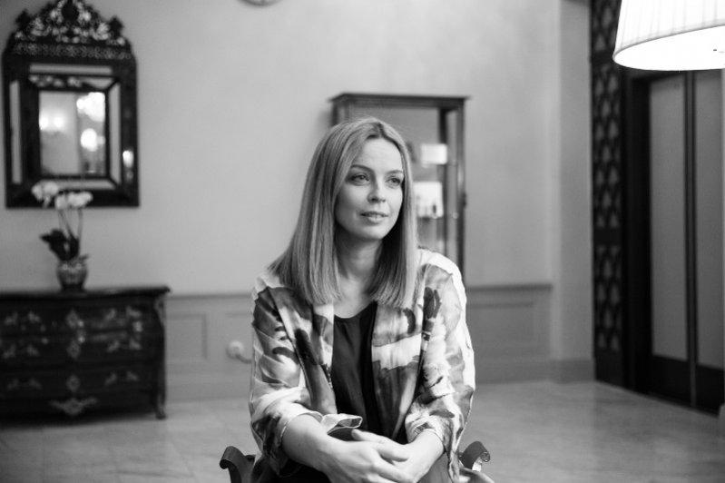 1. Wywiad Redaktor Naczelnej Lamode.info, Agaty Tanter z Frederiką Klaren, Environmental Manager marki KappAhl, Sztokholm 2015