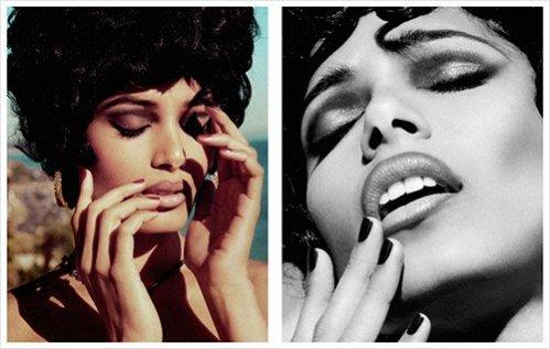Freida Pinto w sesji dla magazynu Flaunt - lipiec 2012