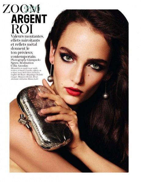 Zuzanna Bijoch w Vogue Paris Marzec 2012