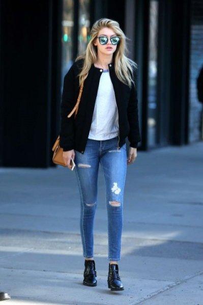 1. Gigi Hadid - zoom na styl