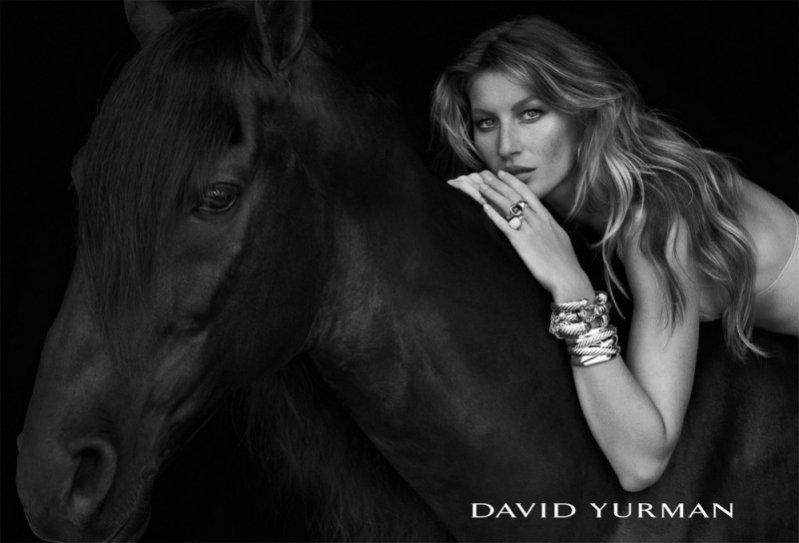 Gisele Bundchen w kampanii David Yurman