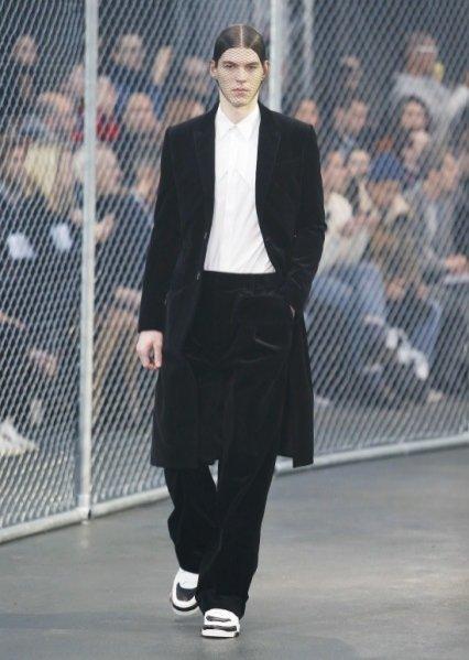 1. Givenchy - męska kolekcja jesień zima 2014/2015