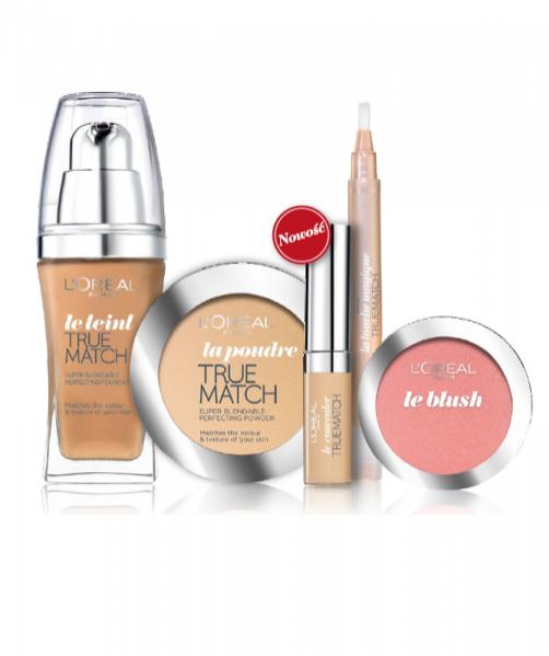 Kolekcja kosmetyków z linii True Match marki L'Oréal