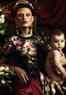 SESJA MARKI DOLCE&GABBANA W INTERVIEW GERMANY