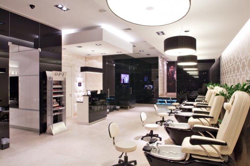 wnętrze salonu - The Pedicure SPA by OPI