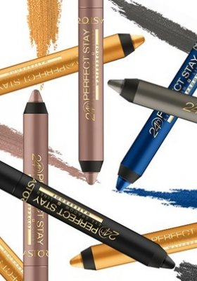 24H PERFECT STAY WATERPROOF EYESHADOW I LINER – CIENIE W KREDCE OD MARKI ASTOR