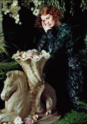 """""""ART OF FANTASY"""" – KAREN ELSON W SESJI DLA PORTER MAGAZINE – LATO 2014"""