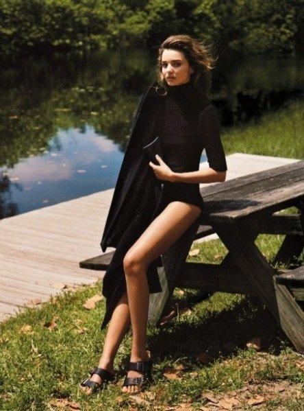 Miranda Kerr w sesji dla wrześniowego Vogue UK