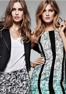 CONSTANCE JABLONSKI W LOOKBOOKU H&M WIOSNA 2013