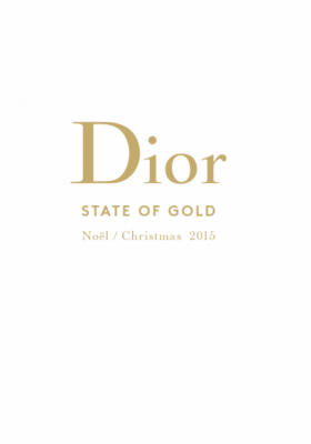 DIOR STATE OF GOLD CHRISTMAS 2015 – MAKIJAŻ NA ŚWIĘTA