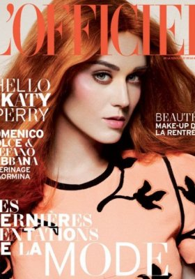 KATY PERRY W SESJI DLA L'OFFICIEL PARIS