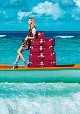 "LOUIS VUITTON - KAMPANIA ""SPIRIT OF TRAVEL"" WIOSNA LATO 2015"