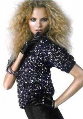 MAGDALENA FRĄCKOWIAK W H&M MAGAZINE NA ZIMĘ 2012