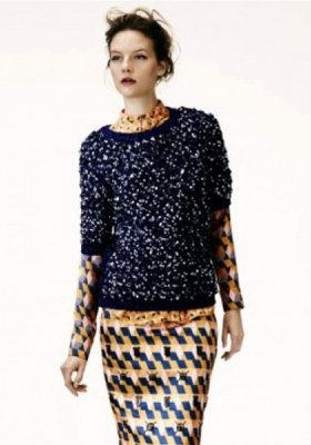 NOWY LOOKBOOK MARKI H&M NA ZIMĘ 2012