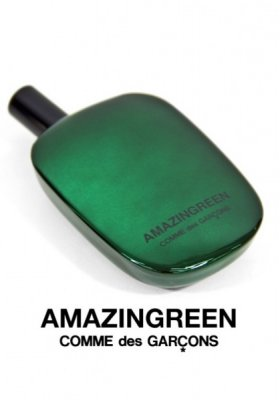 "NOWY ZAPACH ""AMAZINGREEN"" OD COMME DES GARCONS"