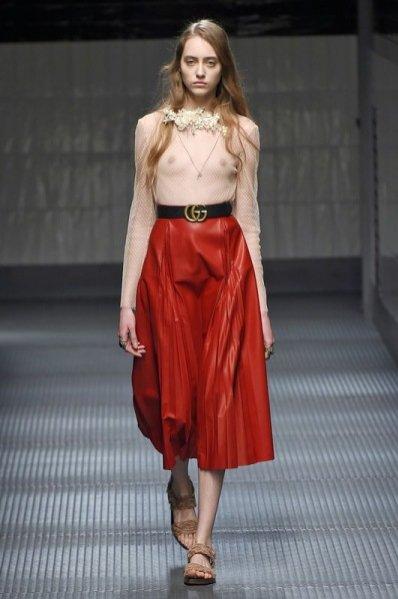 1. Gucci - kolekcja jesień zima 2015/2016