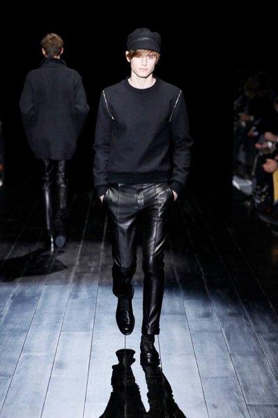 1. Gucci - męska kolekcja jesień zima 2014/2015