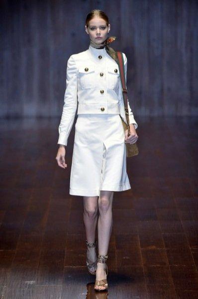 1. Gucci - kolekcja wiosna lato 2015