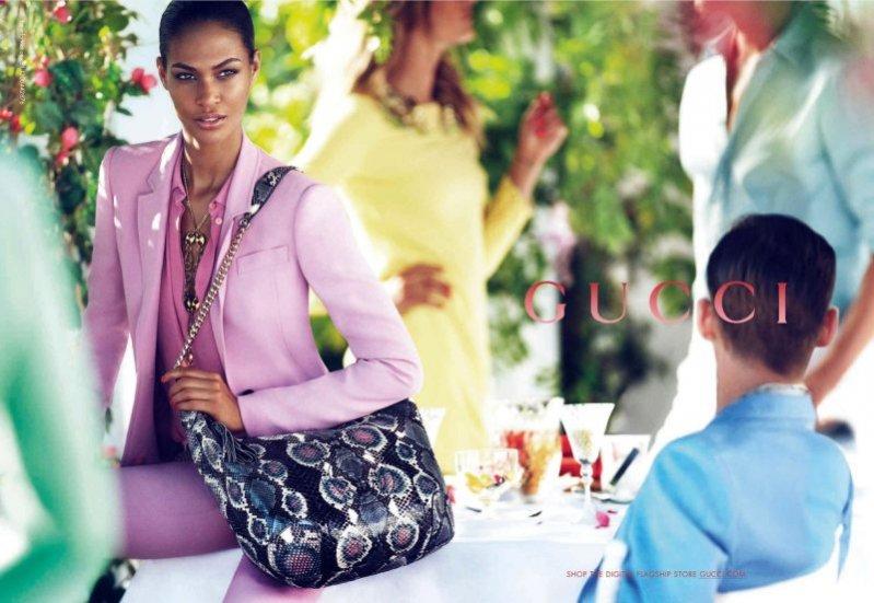 Joan Smalls w kampanii Gucci resort 2013