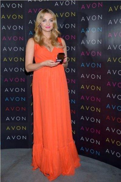 konferencja prasowa Avon - Małgorzata Socha