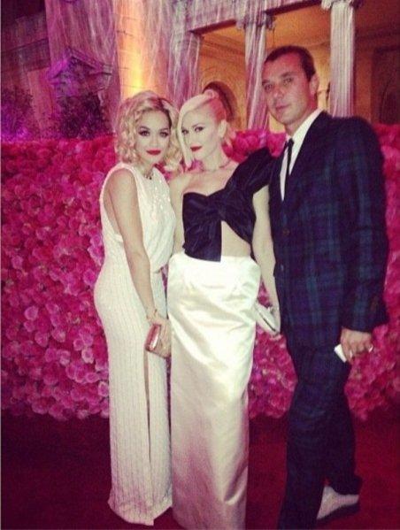 Met Ball 2013 - Rita Ora i Gwen Stefani