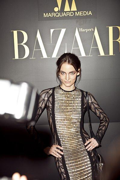 1. Pierwsze urodziny Harper's Bazaar Polska - modelka Zuza Bijoch z agencji D'Vision