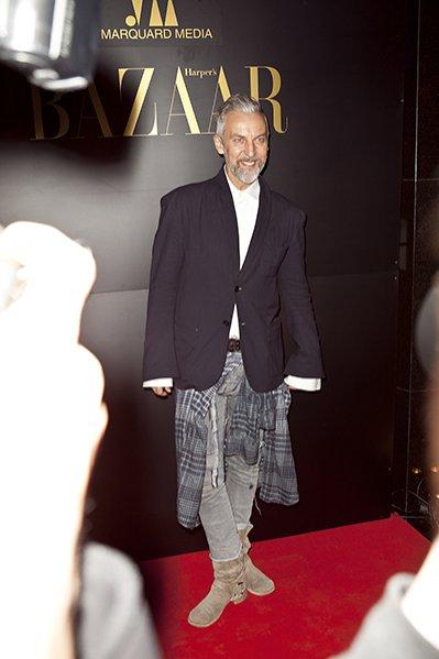 1. Pierwsze urodziny Harper's Bazaar Polska - projektant Robert Kupisz