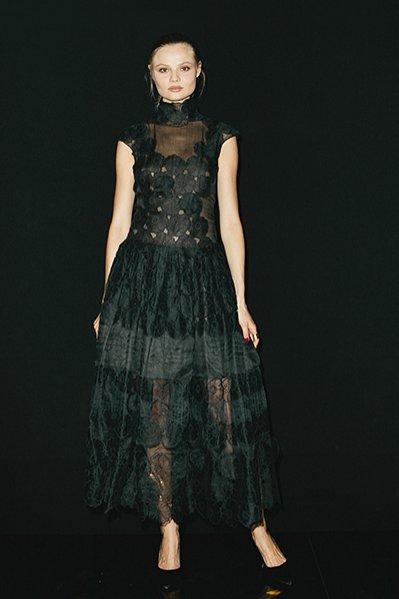 1. Pierwsze urodziny Harper's Bazaar Polska - modelka Magda Frąckowiak z agencji Model Plus, gość honorowy