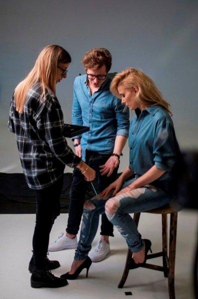 1. Halina Mlynkova ambasadorką marki Beller - zdjęcia z backstage'u kampanii
