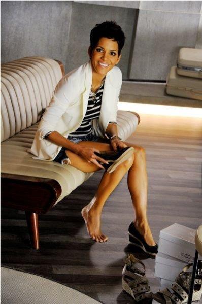 Halle Berry w kampanii marki Deichmann wiosna lato 2012