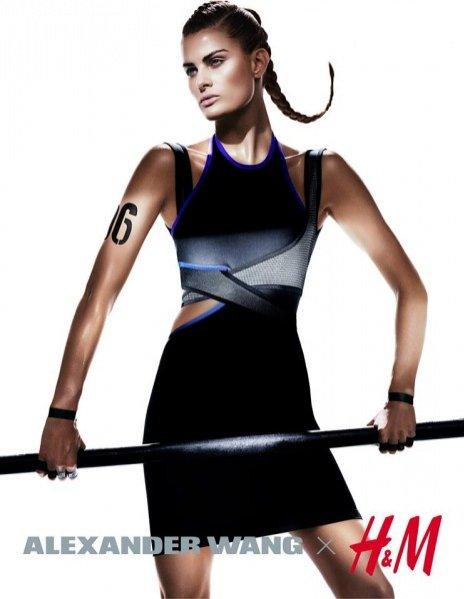 1. Kampania kolaboracji Alexander Wang X H&M