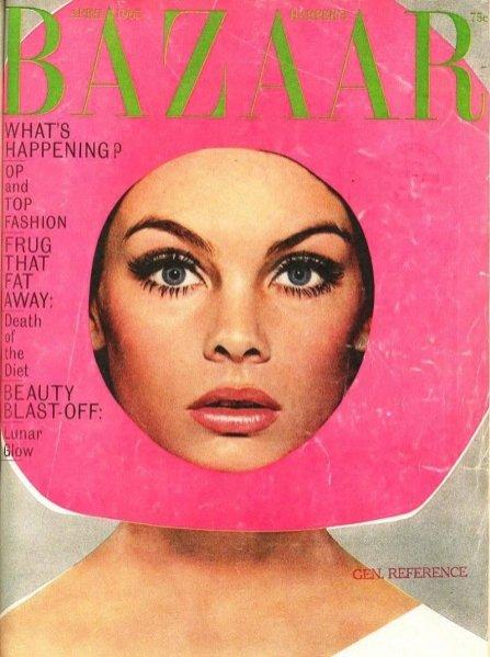 Legendarna okładka Harper's Bazaar autorstwa Richarda Avedona z kwietnia 1965 roku