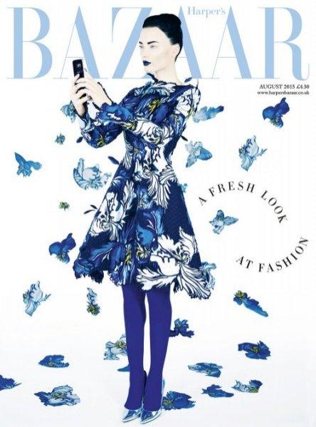 Harper`s Bazaar UK sierpień 2015