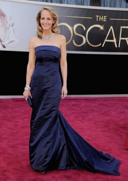 Helen Hunt w sukni H&M na gali rozdania Oscarów 2013