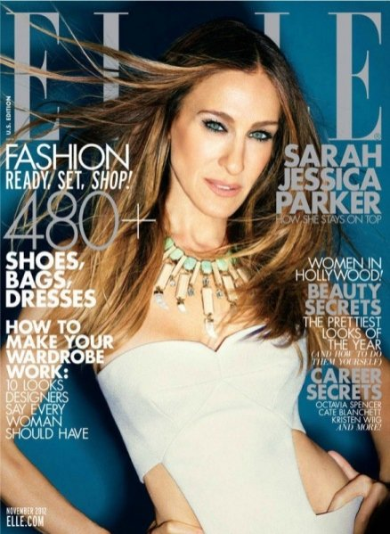 Sarah Jessica Parker na okładce Elle US