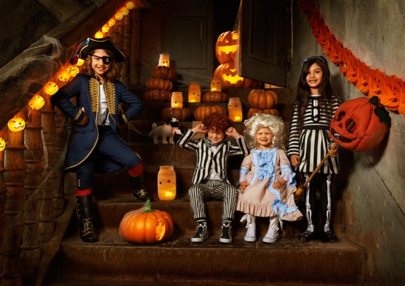 Lookbook kolekcji Halloween H&M All for Children 2013