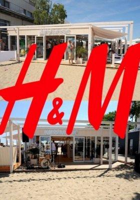 PIERWSZY W POLSCE OUTLETOWY POP-UP STORE H&M