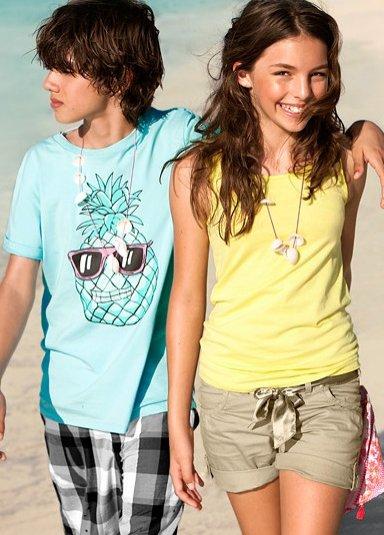 kolekcja H&M dla dzieci lato 2011