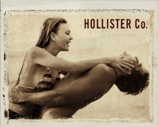 reklama Hollister - teraz także w Polsce
