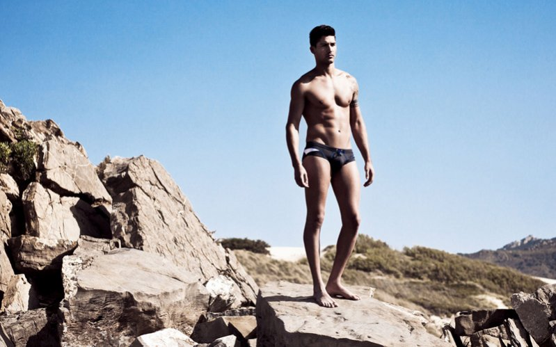 HOM Beachwear lookbook wiosna lato 2012