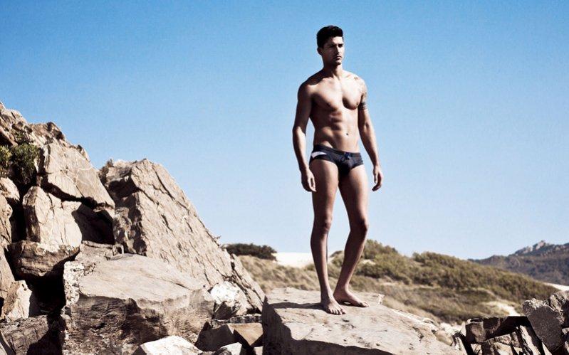 HOM Beachwear lookbook wiosna lato 2012