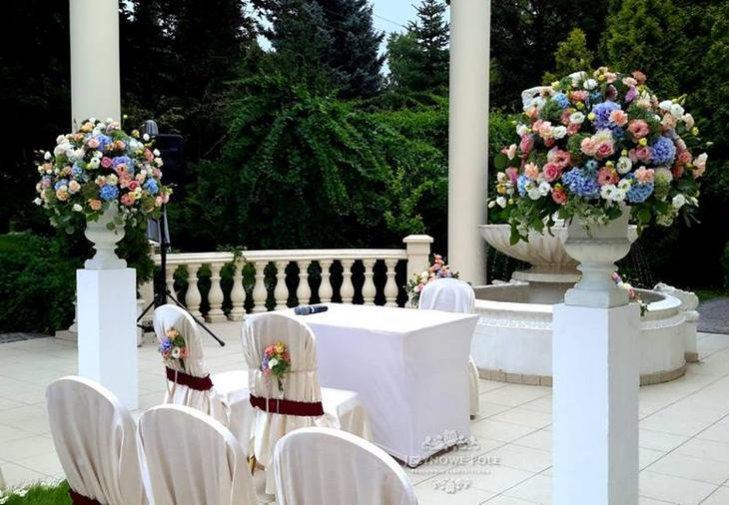 Sale weselne w stylu retro. Hotel Windsor, Warszawa