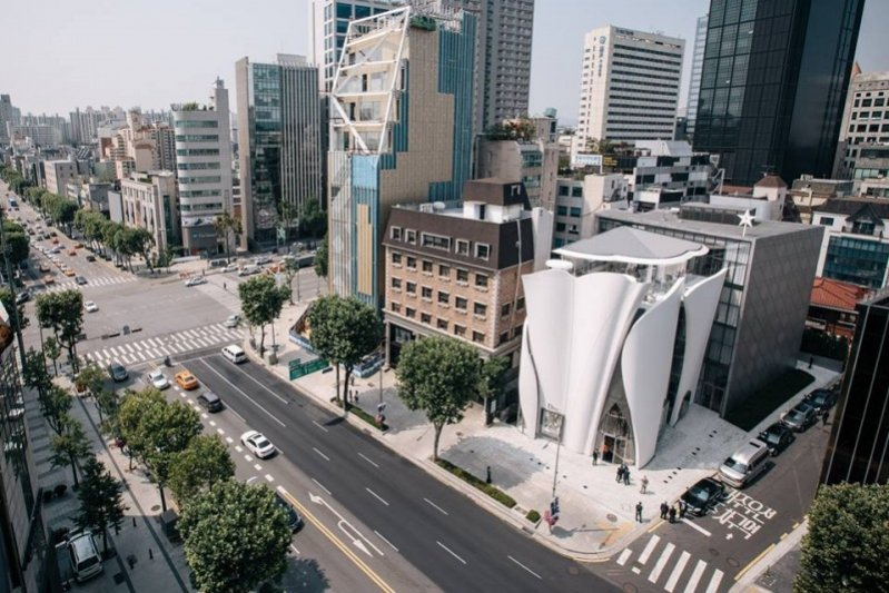 1. Butik Diora w Seulu