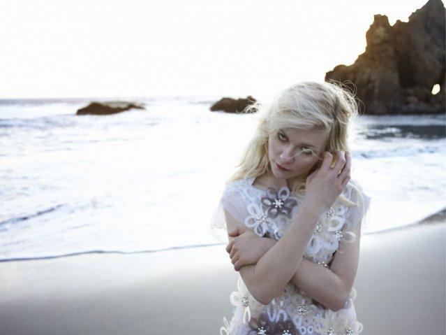 Kirsten Dunst w sesji dla Vogue Italia Luty 2012